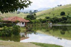Paisagem de Itamonte no Sul de Minas.