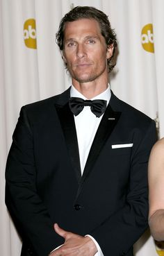 MATTHEW MCCONAUGHEY Tuxedo PICTURES PHOTOS and IMAGES
