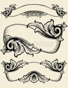 Engraved Ribbons