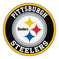 printable pittsburgh steelers logo nfl logos pinterest rh pinterest com steelers logos through years steelers logos through years