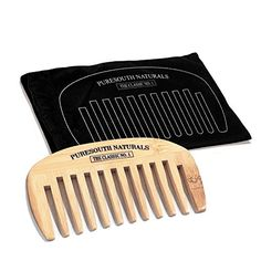 My Best Beard Wide Tooth Bamboo Comb -- Check this awesome image  : Christmas Gifts