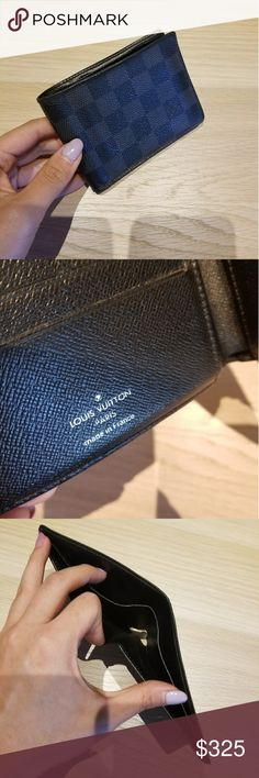 Louis Vitton Men's Wallet Authentic. No original box. Let me know if you have any questions. Louis Vuitton Accessories Key & Card Holders