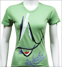 Wicked the Broadway Musical - Elphaba Tee! So cool! I am going to see this show when it comes to my town!