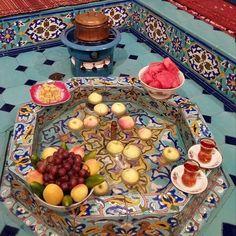 Iranian Art and Architecture Iranian Cuisine, Iranian Food, Persian Decor, Haft Seen, Iran Pictures, Visit Iran, Persian Architecture, Persian Garden, Pakistan