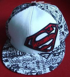 Superman Snapback cap
