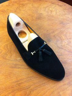 Bespoke loafers by Dimitri Gomez