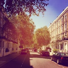 This is the view from the front of the flat I rented in Notting Hill. I highly suggest this area to London newbies!