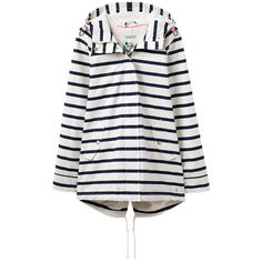 Be prepared for the next downpour and maintain your style with this Drizzlington waterproof parka from Joules. Fashioned from pure cotton and cut to a shorter…