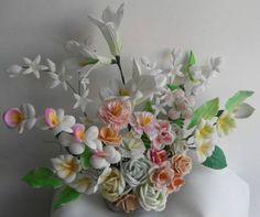 Moldes Para Hacer Flores Fomi (Fomy Foamy) Envio Gratis!!