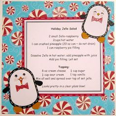 BugBites: Recipe Pages - these are the cutest recipe pages I have ever seen