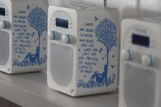 Evoke D2 Rob Ryan by Pure!  Portable radio with beautiful design. DAB and Bluetooth!