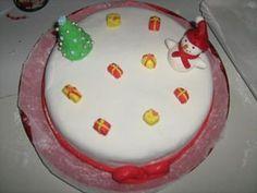 La mia prima torta ricoperta con la pdz