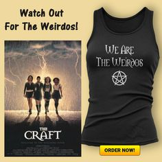 We Are the Weirdos! CLICK HERE TO ORDER => https://fabrily.com/weirdos (Fabrily ship worldwide!) There are more styles and colours to choose from. Prices start from £13.99 and sizes go up to 5XL #witch #wicca #wiccan #witchcraft #thecraft #weirdos