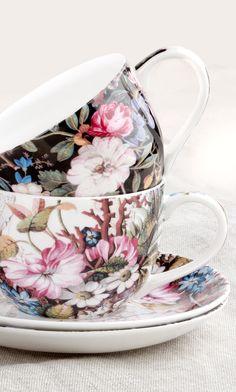Teacups ~ Maxwell & Williams William Kilburn collection