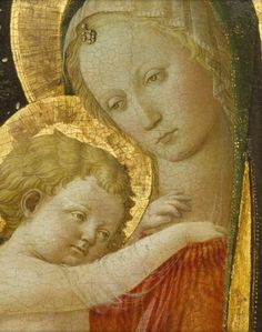 By Filippo Lippi (ca. 1406-1469), ca. 1446, Madonna and Child, tempera and gold on panel. (Italian Renaissance)