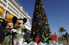 Christmas with the Mice on Castaway Cay, The Bahamas