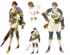 Ohatsu Costumes from Onimusha: Dawn of Dreams