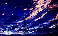 Anime Scenery Fantasy Landscape, Landscape Art, Manga Art, Anime Art, Cool Pictures, Beautiful Pictures, Wallpaper Backgrounds, Wallpapers, Background Pictures