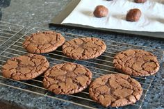 Yankee Kitchen Ninja: Nutella cookies: a recipe