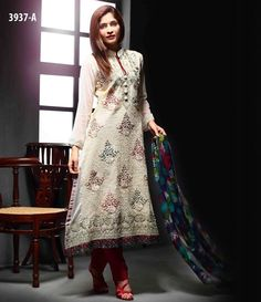 Tawakkal Artistry Chiffon Suit Collection 2015 3937_A