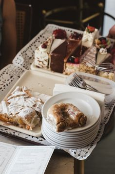 Treys of sweets at Tomaselli Cafe: A Must Visit Cafe in Salzburg Austria