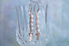 A personal favorite from my Etsy shop https://www.etsy.com/listing/225870350/copper-and-pearls