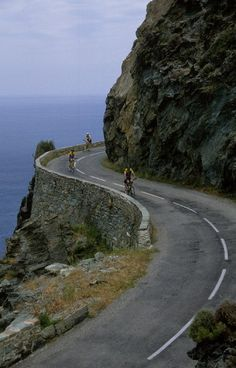Corsica, France  #bicycle #travel