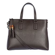 New Trending Shopper Bags: Gucci Womens Bamboo Tassel Dollar Calf Leather Tote Bag with Shoulder Strap 365345 Brown. Gucci Women's Bamboo Tassel Dollar Calf Leather Tote Bag with Shoulder Strap 365345 Brown   Special Offer: $995.00      477 Reviews Gucci Women's Bamboo Tassel Dollar Calf Leather Tote Bag with Shoulder Strap 365345 Brown – Pebbled leather material, double leather handles...