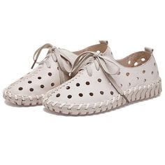 63.18$  Watch now - http://ali9cv.worldwells.pw/go.php?t=32716273331 - 2017 Fashion Genuine Leather Loafers Women Flat Sandals Ladies Creepers Shoes Woman Espadrilles Chaussure Femme Summer Style 63.18$