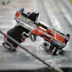 Save those thumbs Camo Guns, Hunting Rifles, Weapons Guns, Guns And Ammo, Airsoft, Firearms, Handgun, Shotguns, Custom Guns