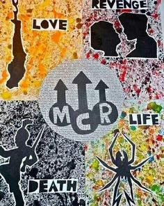 The evolution of MCR album themes.<< they covered many of life's greatest events
