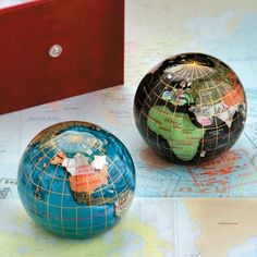 Gemstone Globe Paperweight | Improvements