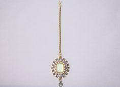 #royal #kaur #collections #kaurcollections #beautiful #elegant #tikka #headpiece #indian #indianheadpiece #indiantikka #indianjewelry #jewelry #mintgreen #jewel #silver #chain #etsy #shop #etsyshop