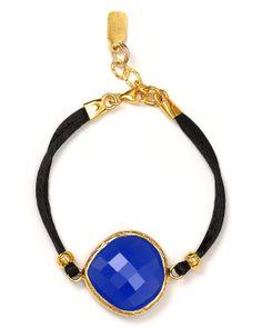 Coralia Leets Silk Gemstone Bracelet