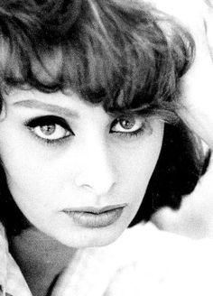 Sophia Loren photographed by Sam Shaw