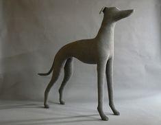 Greyhound Dog Mannequin