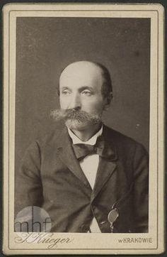 Portret mężczyzny. Zakład fotograficzny Ignacy Krieger. Polska - Kraków. 1864-1889. Utwór w domenie publicznej.