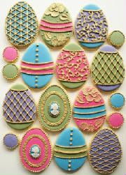 Cookies - way too good to eat!  These are too Beautiful to eat!