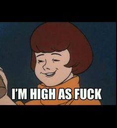 Velma #ScoobyDoo #marijuana