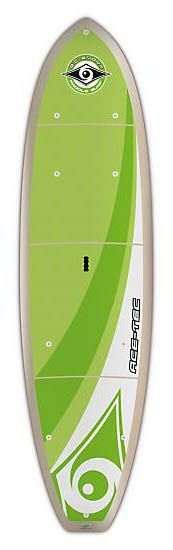 FEATURES of the BIC Sport ACE-TEC Cross Adventure SUP Keeled nose - Enhanced tracking and increased glide for fun cruising and exploring Full rail-to-rail volume - Enhanced stability, maximum use of the entire deck and a dry ride Attachment points - Six deck attachment points for securing gear and easy transport Flat deck - Perfect for family fun, cruising, fitness & yoga Full deck pad (Platinum version only) - Maximizes use of entire deck for fitness, yoga and family fun