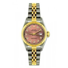 Pre-owned Rolex Datejust 18K Yellow Gold & Stainless Steel 26mm Watch (41.139.205 IDR) ❤ liked on Polyvore featuring jewelry, watches, rolex jewelry, 18 karat gold watches, rolex, 18k watches and preowned jewelry
