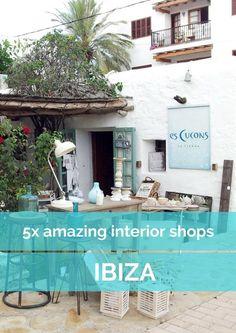 5x amazing interior shops on Ibiza, Spain - Map of Joy