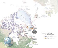L'Anse Aux Meadows Map   du nouveau Monde a été découvert en 1960, à L'Anse aux Meadows ...