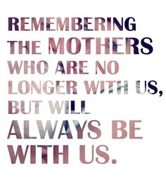 I miss you Mom, but you're always with me. I love you so much ت