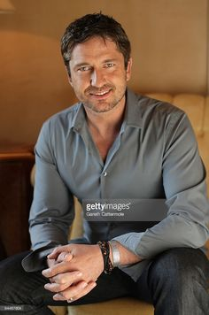 Actor Gerard Butler poses during a portrait session on day seven of the 6th Annual Dubai International Film Festival held at the Madinat Jumeriah Complex on December 15, 2009 in Dubai, United Arab Emirates.