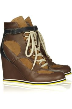 See By Chloe running shoe wedge perfection