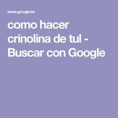 como hacer crinolina de tul - Buscar con Google
