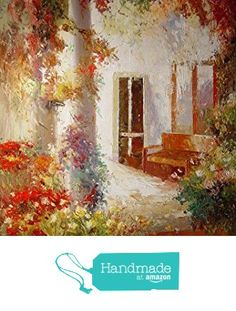 Flowers on the pillar-Oil painting-Hand painted original landscape painting-Artwork for Home Decor-Order scenery paintings on canvas-Custom original painting-158 from SunBirdArts http://www.amazon.com/dp/B01AKB24OS/ref=hnd_sw_r_pi_dp_QwMPwb1M61745 #handmadeatamazon