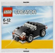 Lego creator #30183 #black sedan/coupe city car #building block set,  View more on the LINK: http://www.zeppy.io/product/gb/2/262673991414/