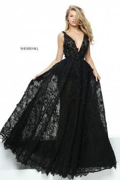 c3bebfe8997 50836-black-1 Sherri Hill Prom Dresses